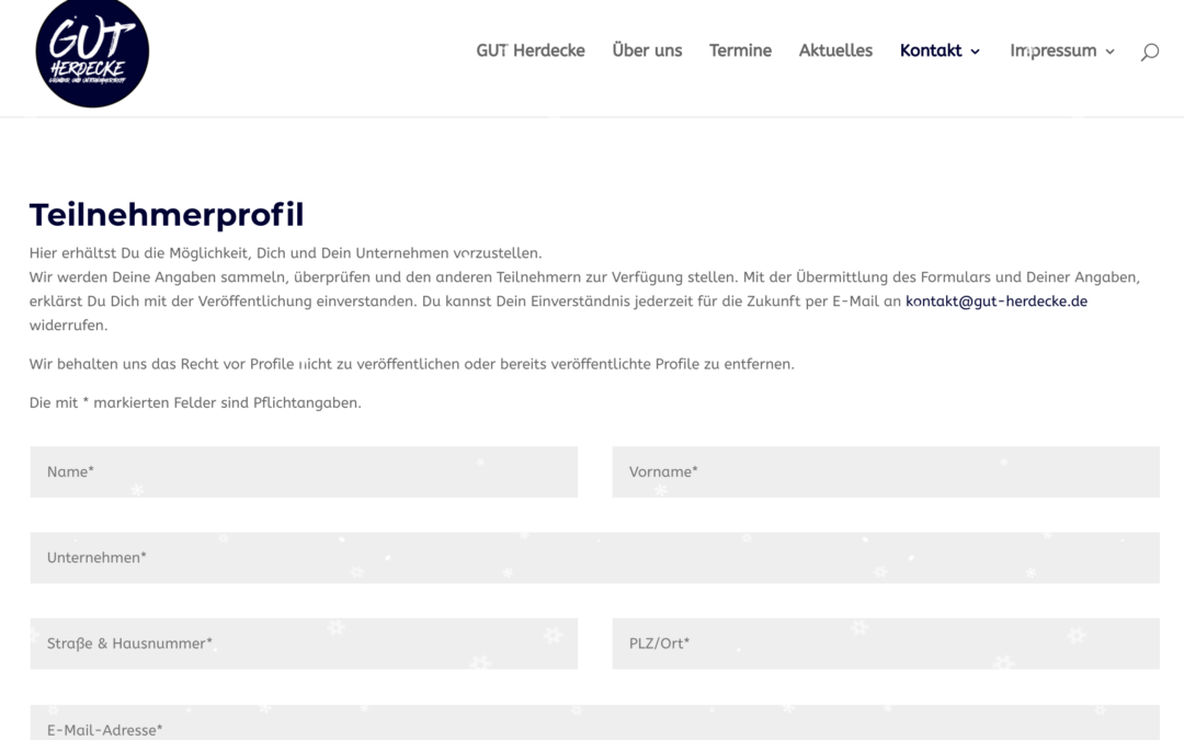 GUT Herdecke setzt um: Themen, Impulsredner, Newsletter & Teilnehmerprofil