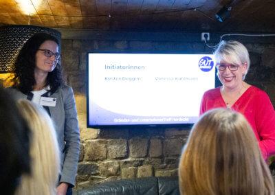 Vanessa Kuhlmann und Kirsten Deggim, Initiatorinnen von GUT Herdecke (2)